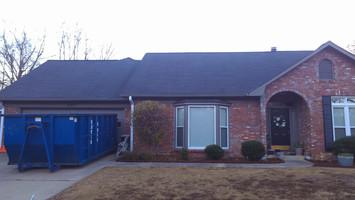 Shadow gray 30yr arch shingle roof