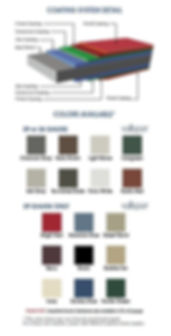 Metal Roof Panel Colors