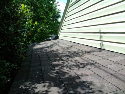 Weathered Wood 3ta 25 yr shingle porch