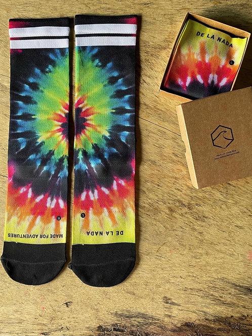 Tyedie socks