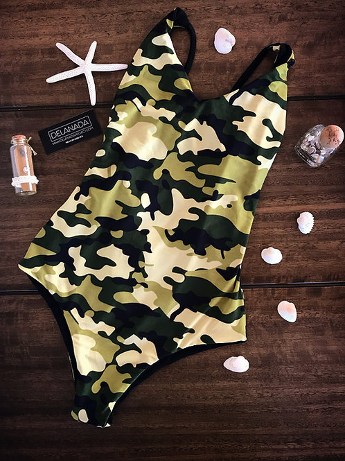 Camuouflage one piece