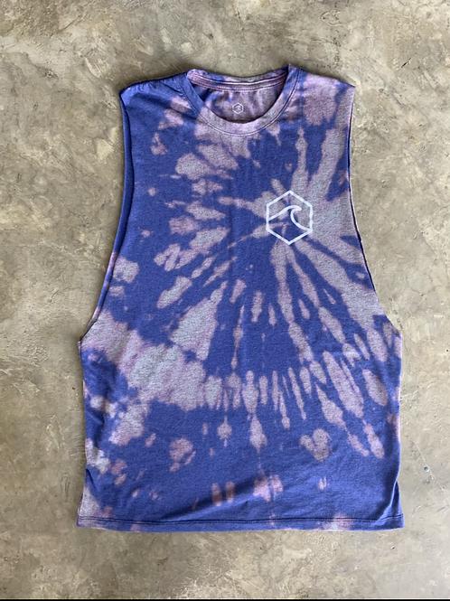 Blue tiedye tshird