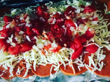 Pizza sin pan (libre de gluten)