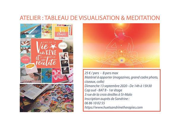 atelier tableau de visualisation & medit