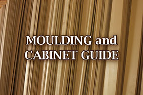 Moulding and cabinet guide