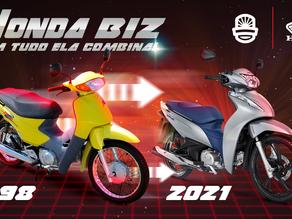 Com tudo ela combina? Conheça a história por trás da Biz, uma das motos mais brasileiras da história