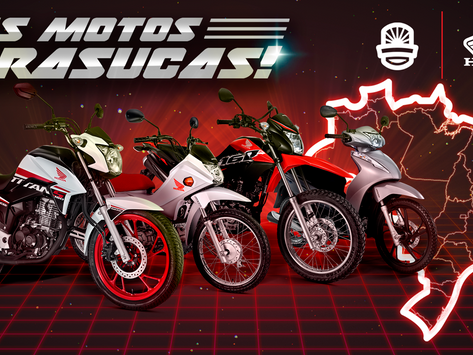Confira 4 motos Honda que são feitas exclusivamente para o Brasil.