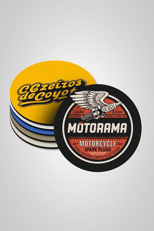 Kit Porta-Copos Motorama - 6 unidades