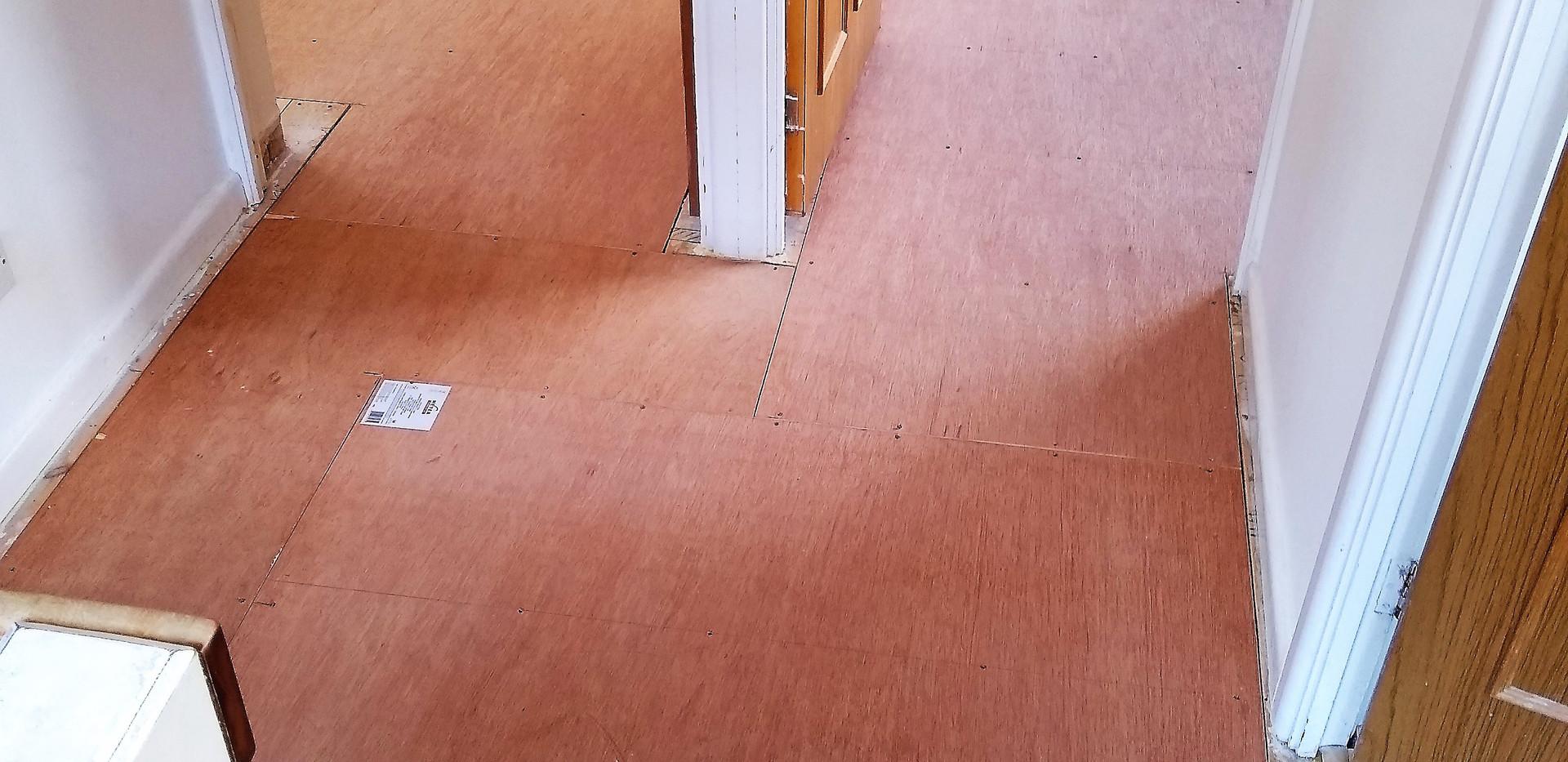 Squeaky floor repair