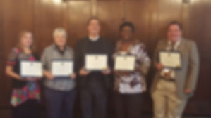 Association of Chaplains in bergen County officer ibstallation 2015