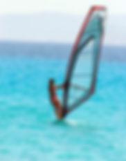 location planche à voile windsurf plage  palombaggia porto-vecchio corse du sud