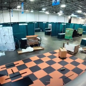 Time Lapse booth setup at Aquatic Experience (Oct 2018)
