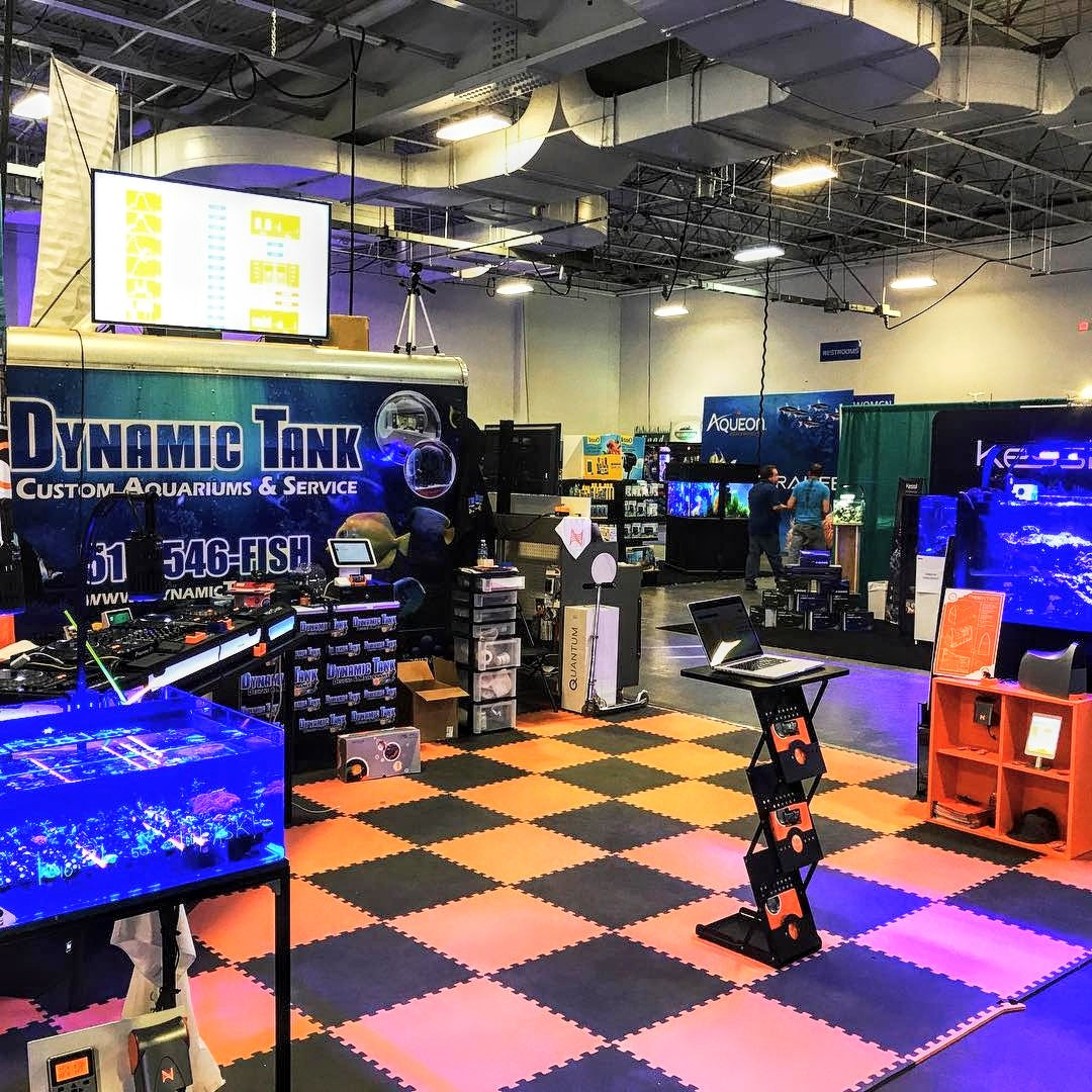Set up at Aquatic Experience  (Oct 2018)