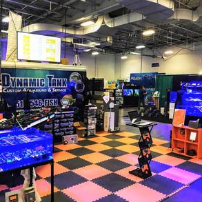 Set up at Aquatic Experience  (Oct 2018)