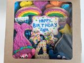 4th Birthday- Troll Cookies for Lyla