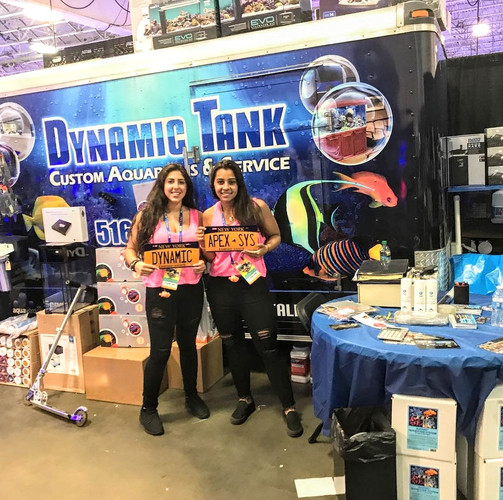 All set up at Reef-a-Palooza 2018 (Meadowlands Convention Ctr- June 2018)
