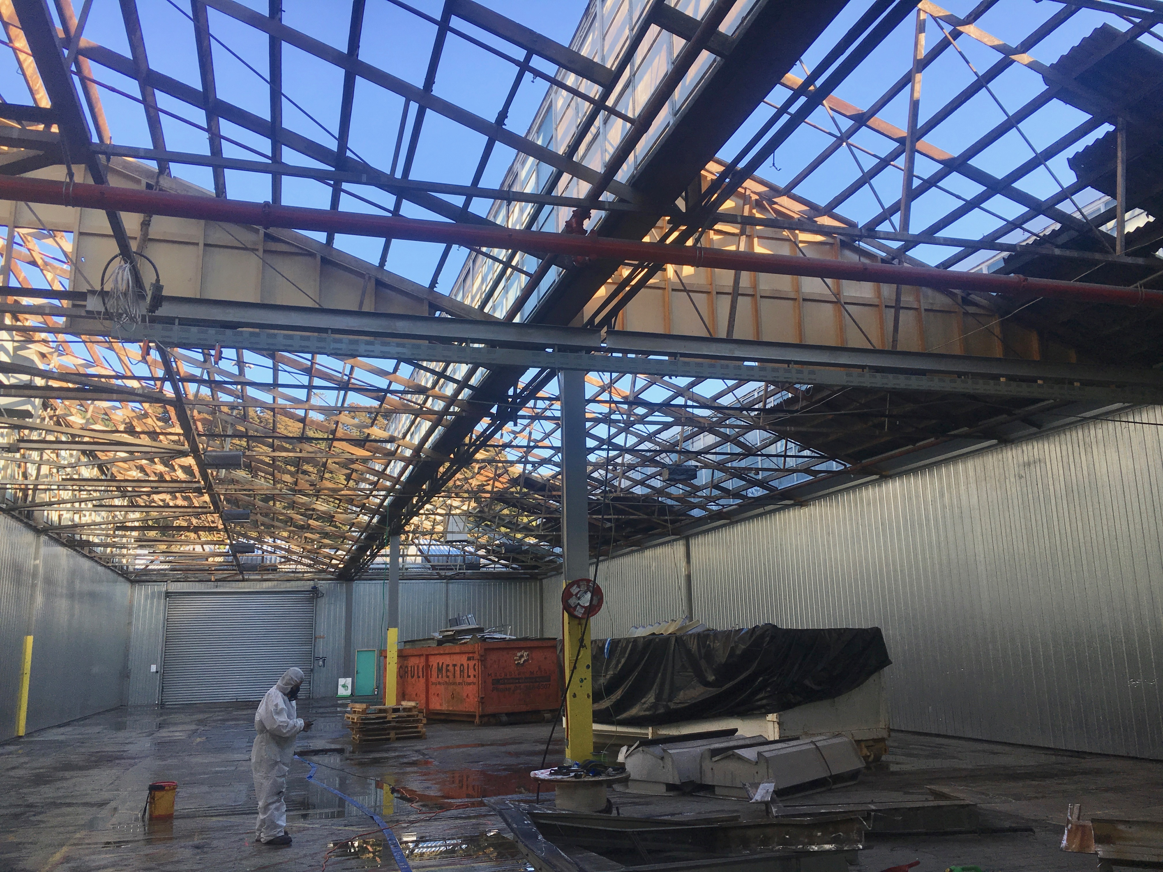 Roof Removal In Wellington
