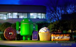 Google Lawn Sculptures
