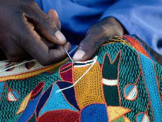 Chain stitch Embroidery Art