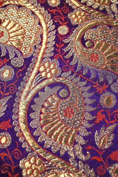 The Fabric of India exhibition at the V+A got me thinking about gold...