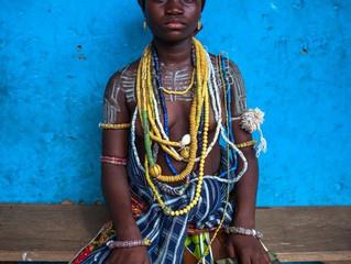 Anthony Pappone-Photos of Krobo women, Ghana.