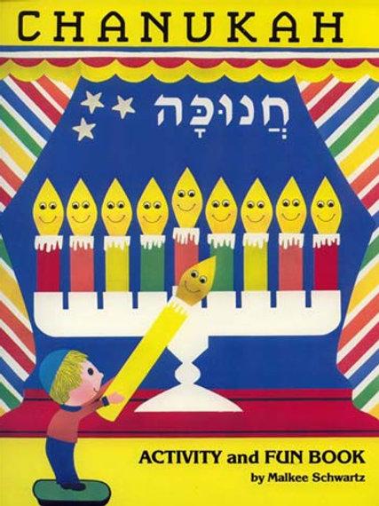 Chanukah Activity & Fun Book (Schwartz)