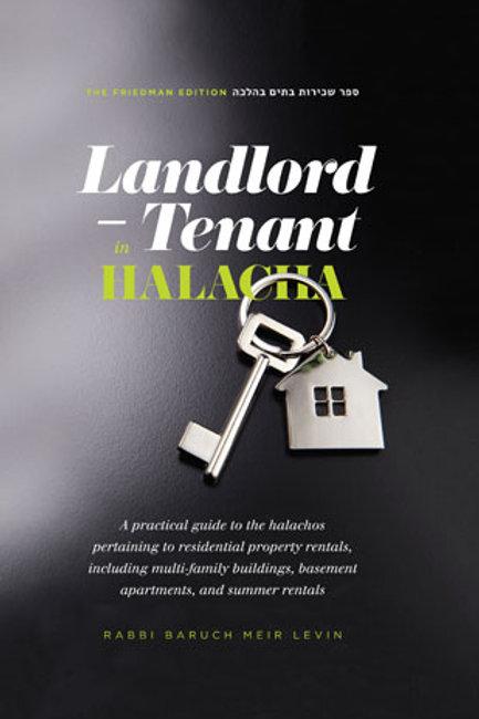 Landlord and Tenant in Halacha