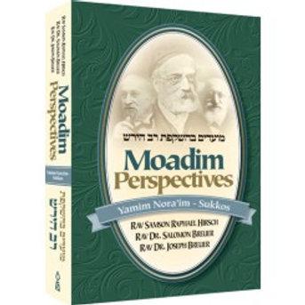 Moadim Perspectives, Yamim Noraim through Sukkos