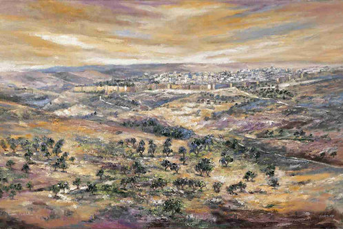 Jerusalem- view from Mount Scopus
