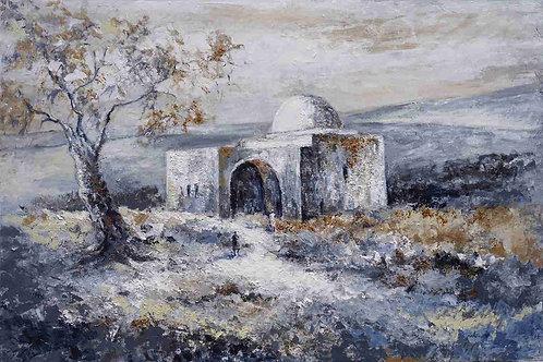 Rachel Tomb in gray