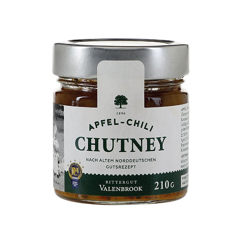 Apfel-Chili-Chutney- Rittergut Valenbrook