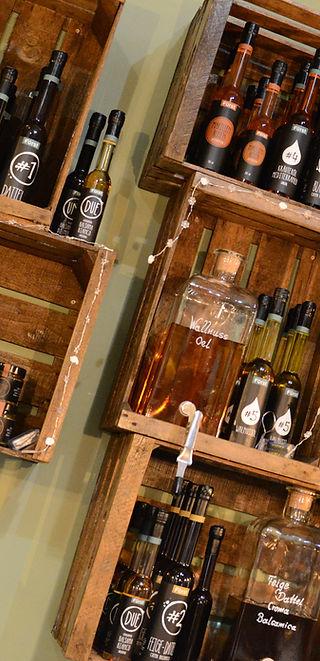 Fürstliche Spezialitäten: Crema Balsamica, Öle, Aperitif und Crema di Frutta