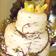Birchtree wedding cake