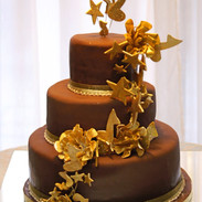 Chocolate  and gold