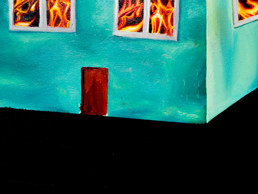 Is There No One in the House? Surrealist Deserts, Empty Houses and Quantum Incompleteness