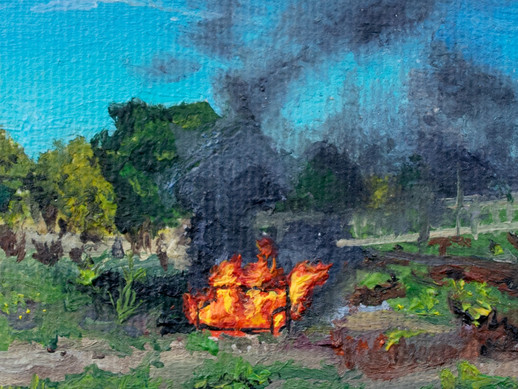 What Burning Furniture in Surrey Has To Do With Surrealism