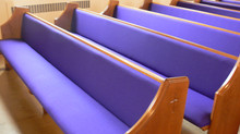 Old Church Pew Cushions: Keep Them or Dump Them?!