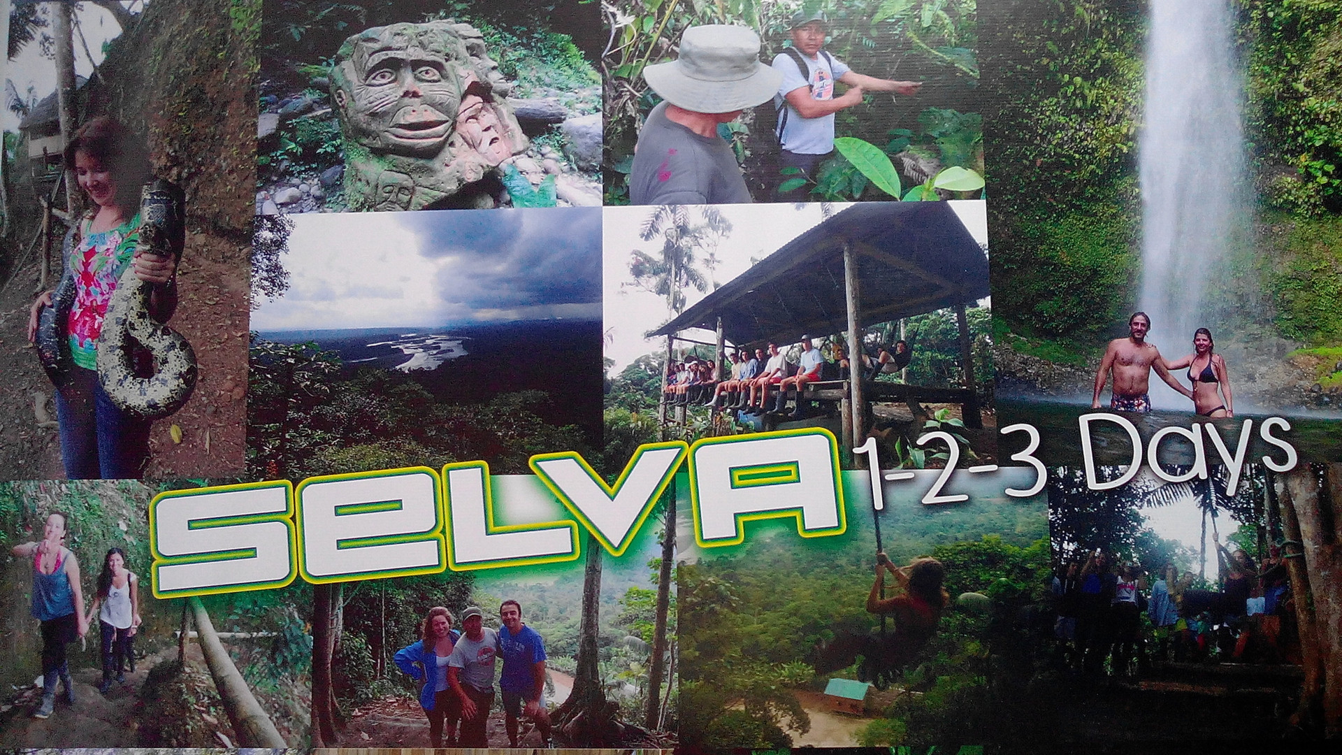 Puyo, the jungle, Ecuador