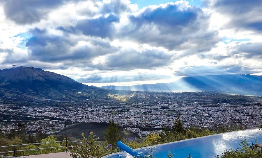 View of Ibarra, Ecuador