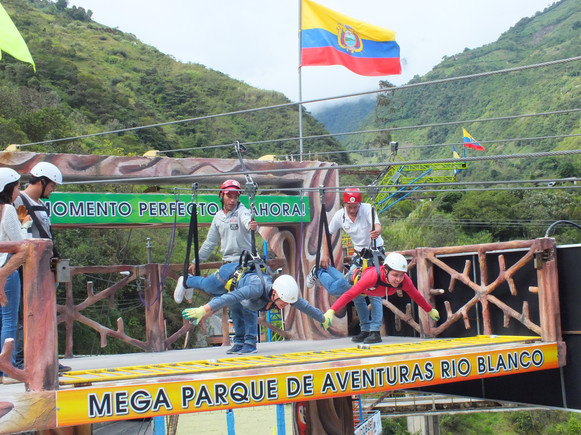 Baños,Ecuador, zip-lining