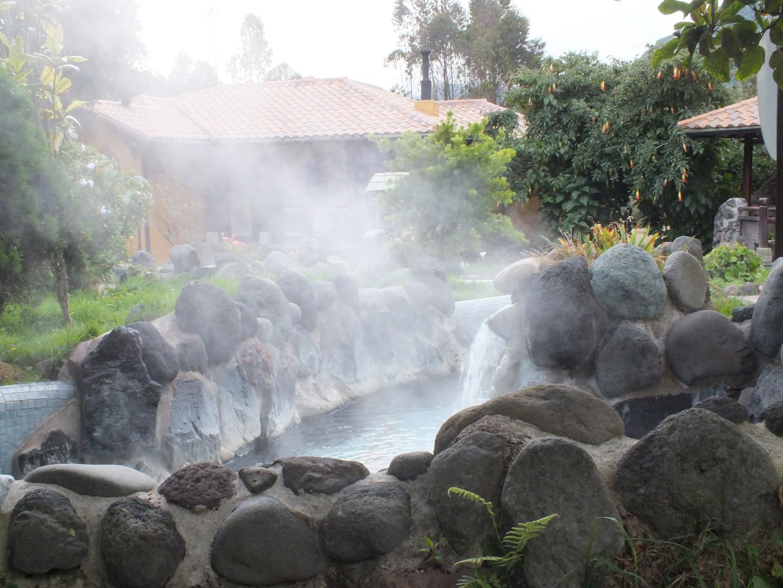 Papallacta, Ecuador Volcanic Hot Sprigs