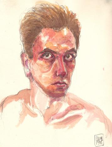 Self-portrait, 1995