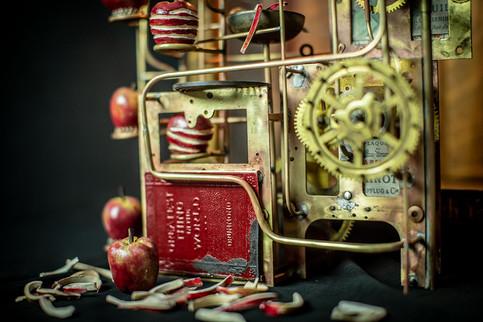 Small Apple Peeling Machine