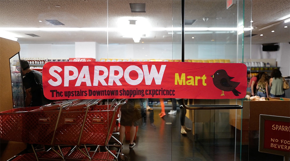 Sparrow Mart in Downtown Los Angeles