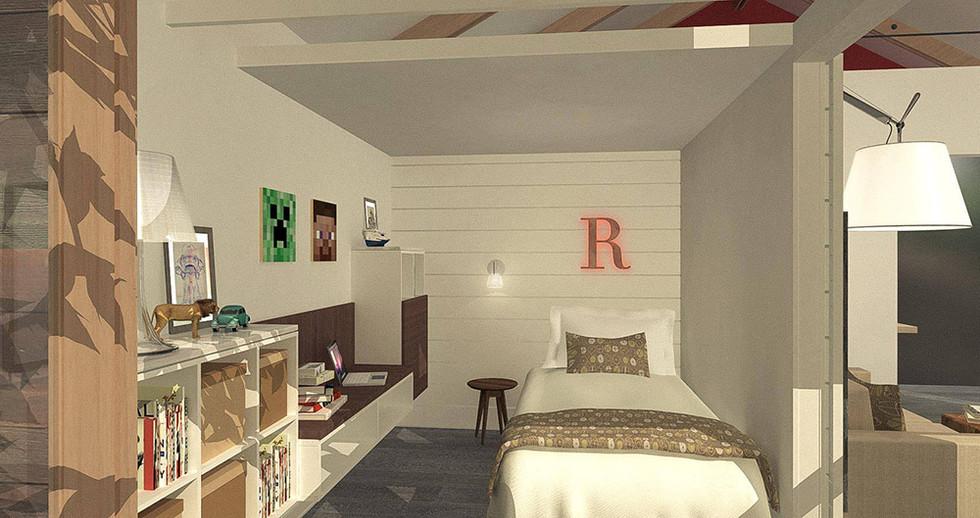 Roman's Bedroom - Rendering