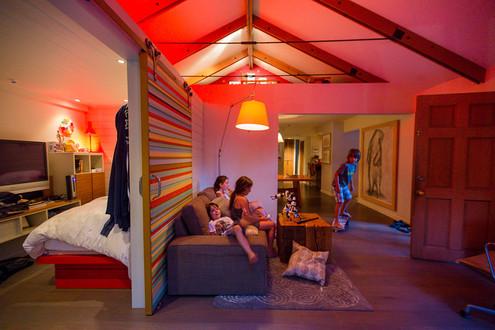 ローマの寝室/居間