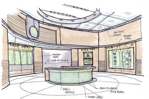 Lobby Concept Sketch