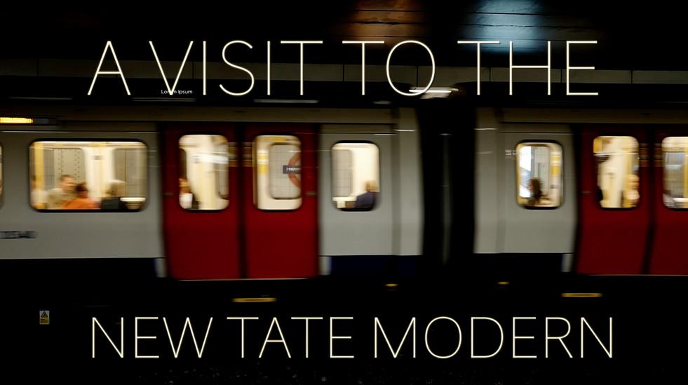 The New Tate Modern, London