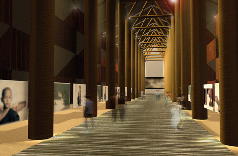 Ashes and Snow Interior Rendering