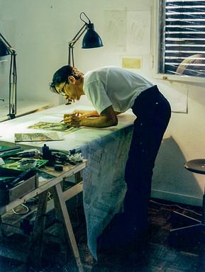 Irwin at Rafael Moneo's Office